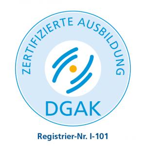 DGAK-Siegel-Ausbildung-I-101