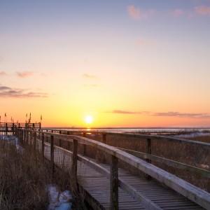 Sonnenaufgang Amrum