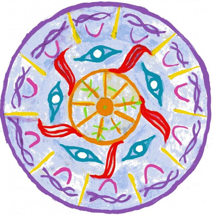 Mandala Bewusst manifestieren